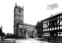 Whitchurch, St Alkmund's Church From The South West 1901