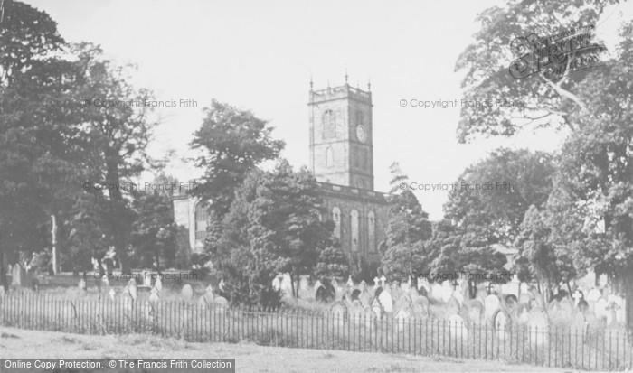 Photo of Whitchurch, St Alkmund's Parish Church c.1955