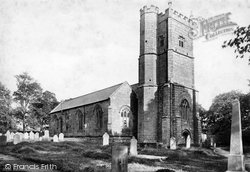 St Andrew's Church 1890, Whitchurch