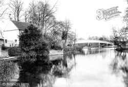 Whitchurch, The Bridge 1910, Whitchurch-on-Thames