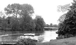 Whitchurch, The Bridge c.1960, Whitchurch-on-Thames