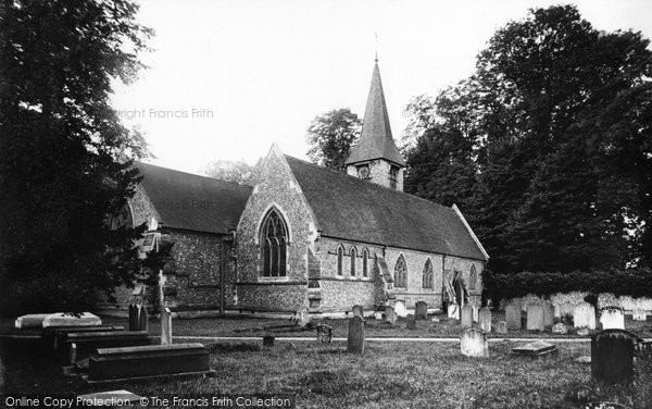Photo of Whitchurch, The Church 1890
