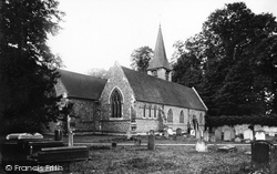 Whitchurch, The Church 1890, Whitchurch-on-Thames