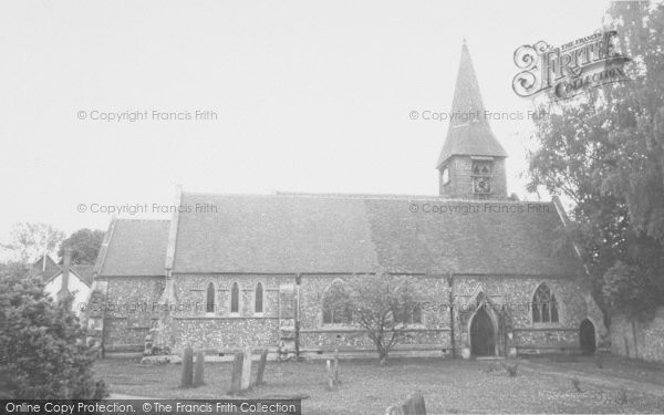 Photo of Whitchurch, The Church c.1960