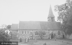 Whitchurch, The Church c.1960, Whitchurch-on-Thames
