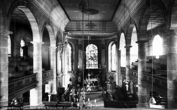 Photo of Whitchurch, The Church Interior c.1960