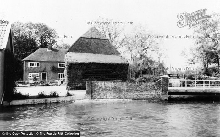 Photo of Whitchurch, The Fulling Mill c.1960