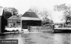 Whitchurch, The Fulling Mill c.1960