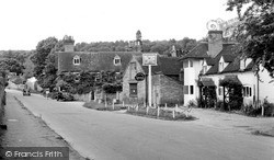 Whitchurch, The Greyhound 1958, Whitchurch-on-Thames
