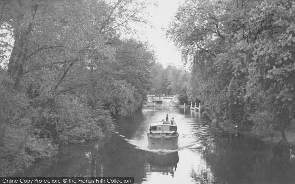 Photo of Whitchurch, The Lock From The Bridge c.1955