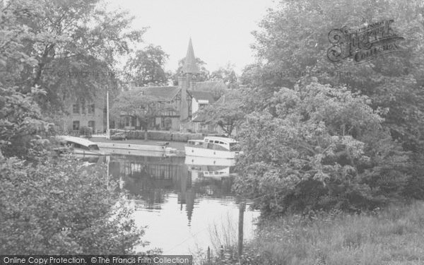 Photo of Whitchurch, The Mill Pool c.1955