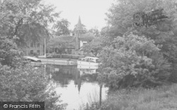 Whitchurch, The Mill Pool c.1955, Whitchurch-on-Thames