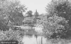 Whitchurch, The Mill Pool c.1960, Whitchurch-on-Thames