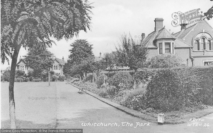 Photo of Whitchurch, The Park c.1950