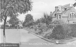 The Park c.1950, Whitchurch