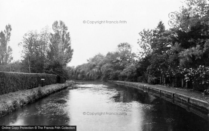 Photo of Whitchurch, The River Test c.1939