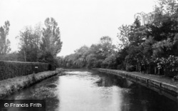 Whitchurch, The River Test c.1939