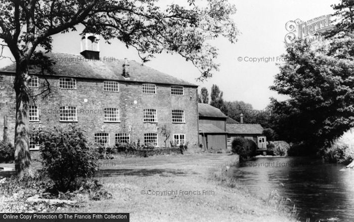 Photo of Whitchurch, The Silk Mill c.1960