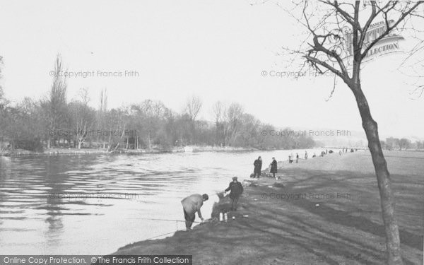 Photo of Whitchurch, The Thames c.1955