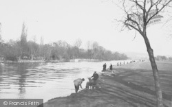 Whitchurch, The Thames c.1955, Whitchurch-on-Thames