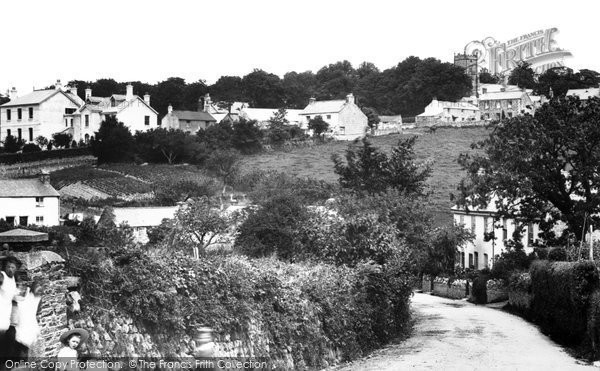 Photo of Whitchurch, The Village 1898