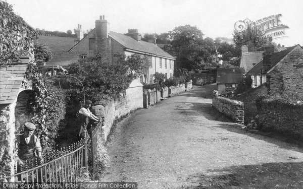 Photo of Whitchurch, The Village 1910