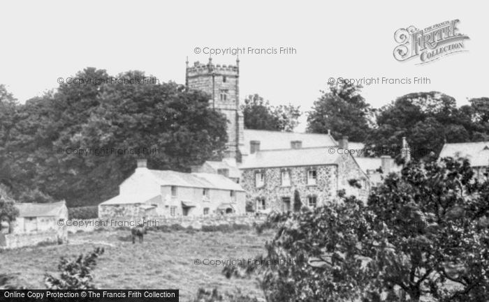 Photo of Whitchurch, The Village And Church 1898
