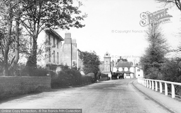 Photo of Whitchurch, The Village c.1955