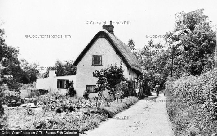Photo of Whitchurch, The Weir Footpath c.1955