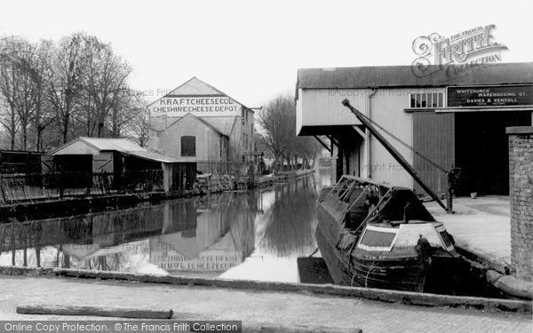 Photo of Whitchurch, the Wharf c1955, ref. W84301