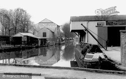 Whitchurch, The Wharf c.1955