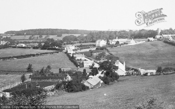 Photo of Whitchurch, Village 1890
