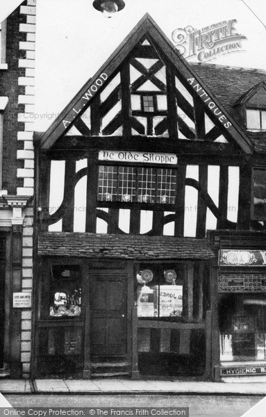 Photo of Whitchurch, Ye Olde Shoppe, High Street c.1955