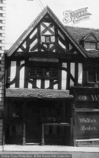 Photo of Whitchurch, Ye Olde Shoppe, High Street c.1960