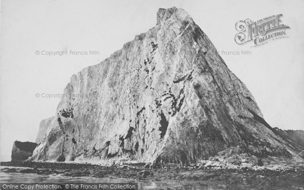 Photo of White Cliff Bay, Culver Cliffs c.1867