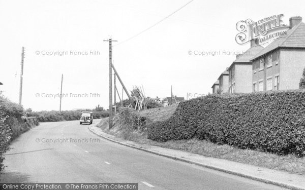 Photo of White Colne, Colchester Road c.1955