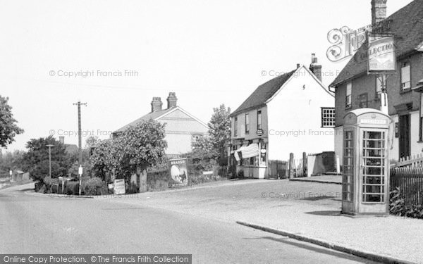 Photo of White Colne, Colchester Road c.1955