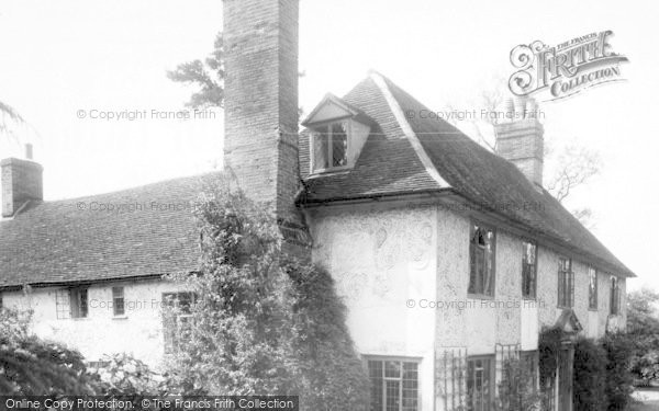 Photo of White Colne, Colne Ford House c.1955