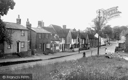 From The Green c.1955, White Colne