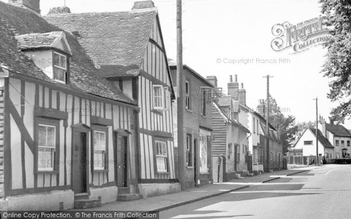 Photo of White Colne, Main Road c.1955
