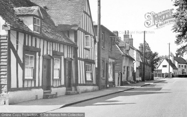 Photo of White Colne, Main Road c.1955