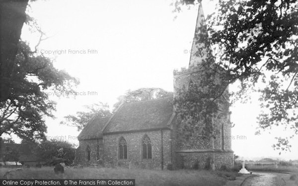 Photo of White Colne, Parish Church c.1955