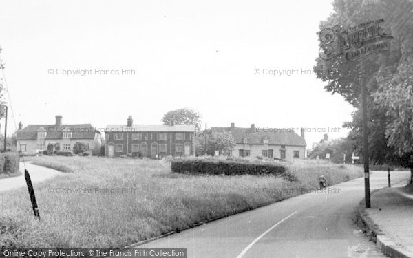 Photo of White Colne, The Green c.1955