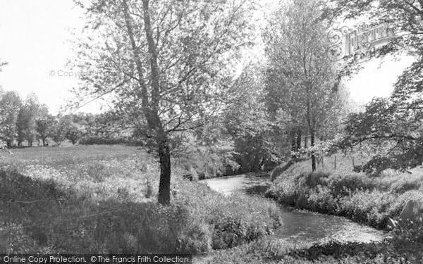 Photo of White Colne, The River Colne c.1955