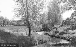 White Colne, The River Colne c.1955