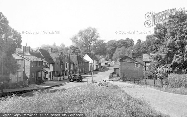 Photo of White Colne, The Village c.1955