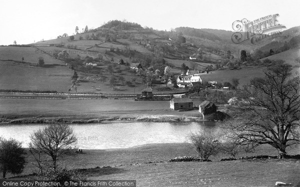 Photo of Whitebrook, Tump Farm And Valley From Main Road c.1960