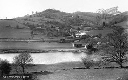 Whitebrook, Tump Farm And Valley From Main Road c.1960