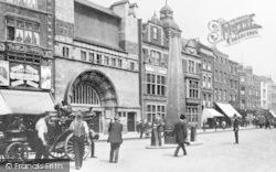 Whitechapel, High Street And Art Gallery c.1905