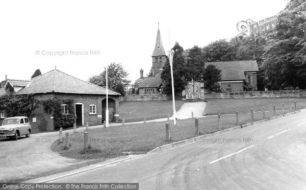 Photo of Whitegate, St Mary's Church c.1960